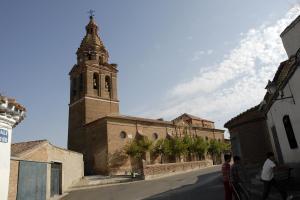 Iglesia de Santa María. Foto: Ayuntamiento Torrecilla de la Orden.