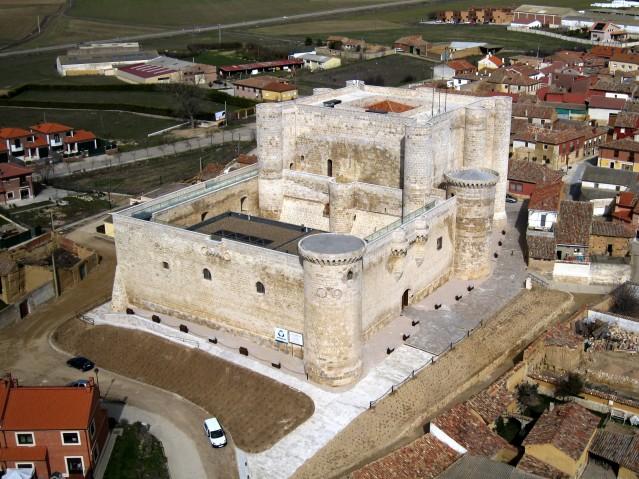 Castillo de Valdepero. Foto: Diputación de Palencia